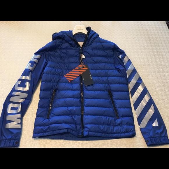 moncler off white jacket replica